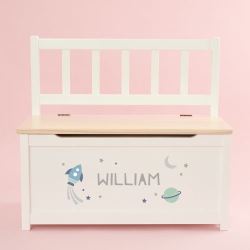 Personalised Rocket Design Toy Bench