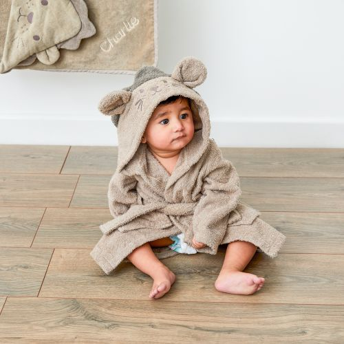 Personalized Lion Towelling Robe