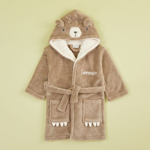 Personalized Bear Robe