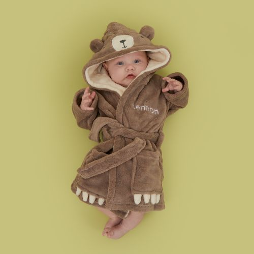 Personalized Bear Robe Model