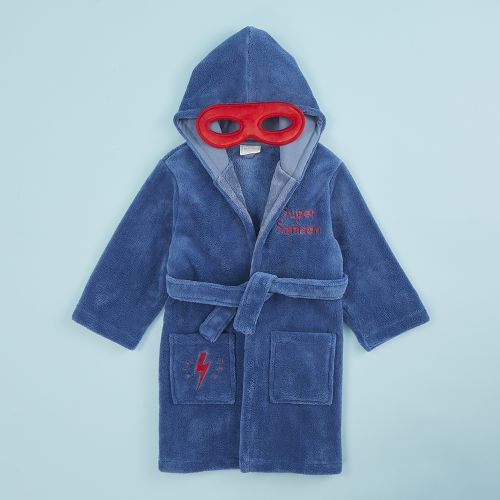 Personalised Super Hero Robe with Mask