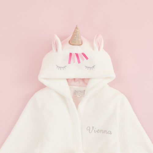Personalised Unicorn Robe
