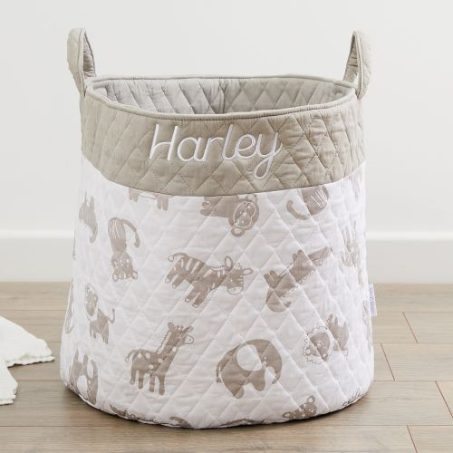 Personalised Jungle Print Storage Bag