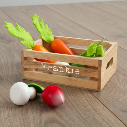 Personalised Le Toy Van 5-a-day Wooden Play Vegetables