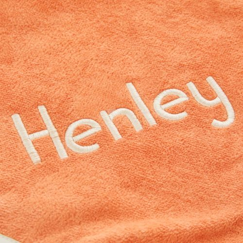 Personalized Fox Design Hooded Towel