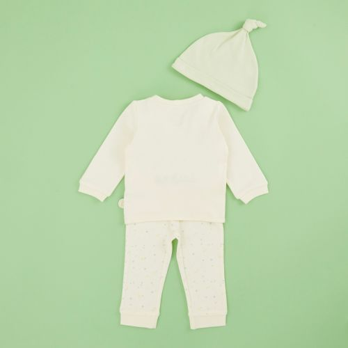 Personalised Embroidered Little Lamb Jersey Outfit Set (3 piece)
