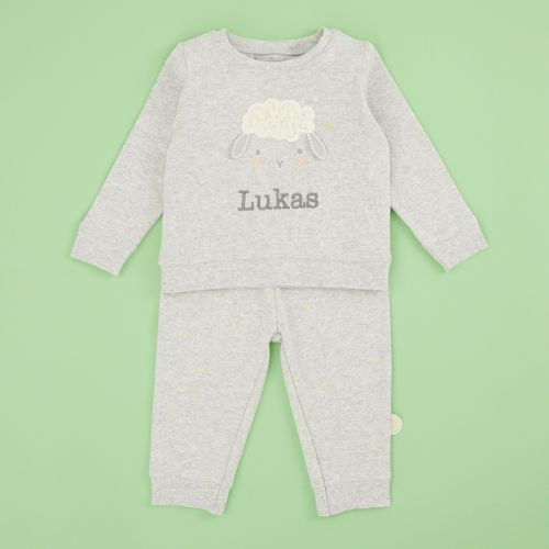Personalised Little Lamb Pyjama Set