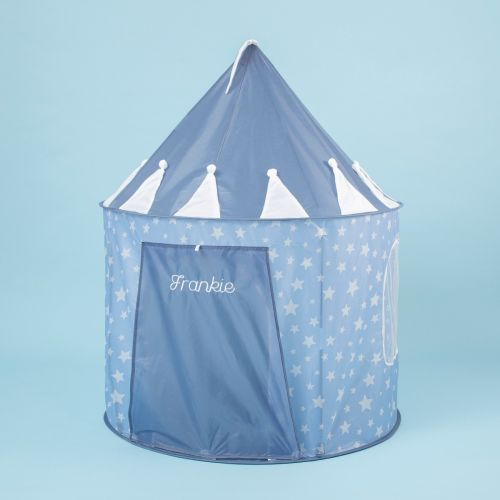 Personalized Blue Star Play Tent