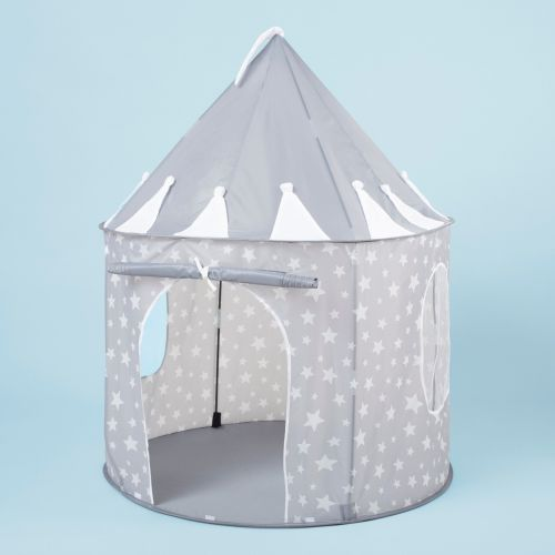 Personalised Kids Concept Grey Star Play Tent