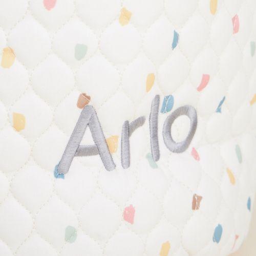 Personalised Small Rainbow Polka Dot Storage Bag