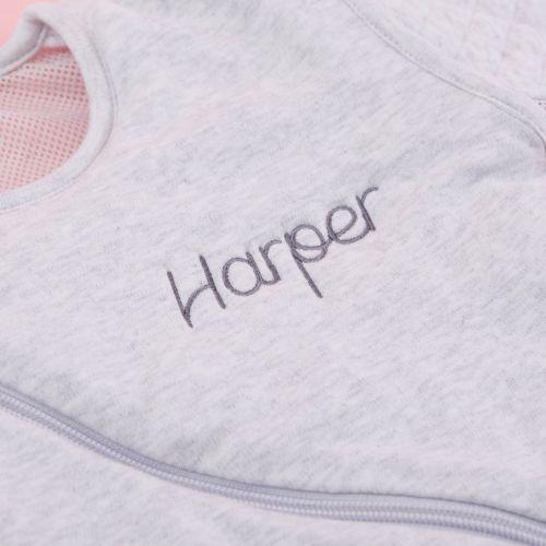 Personalised Purflo Grey Sleep Bag