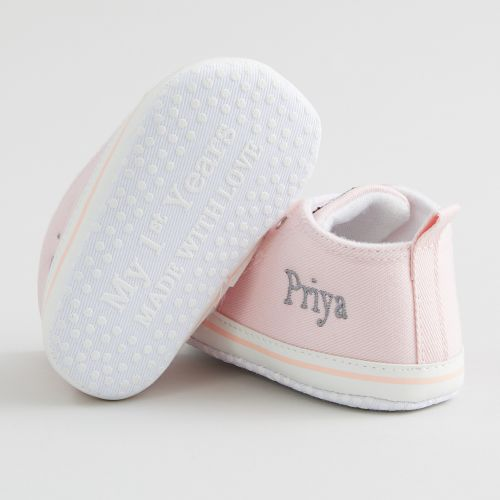 Personalized Pink High Tops Sneakers