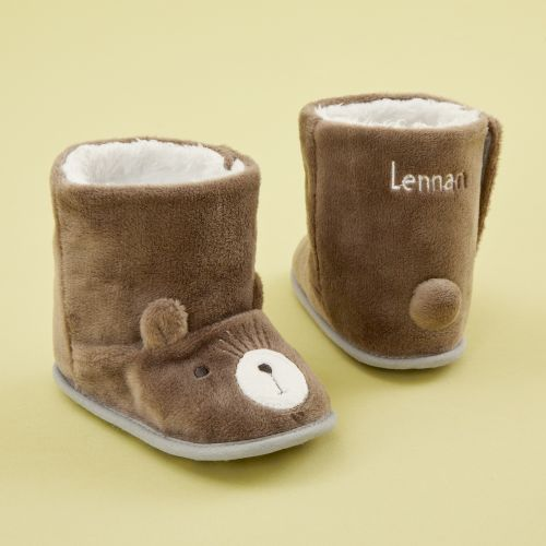Personalized Bear Booties