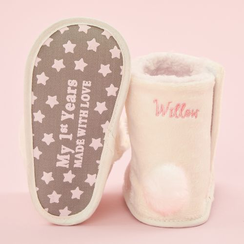Personalized Bunny Booties