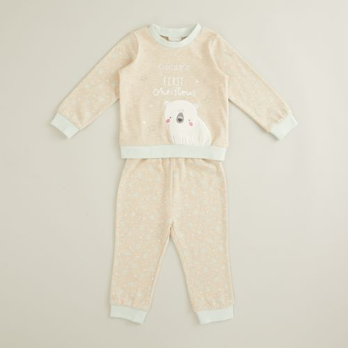 Personalized 'My 1st Christmas' Pajama Set