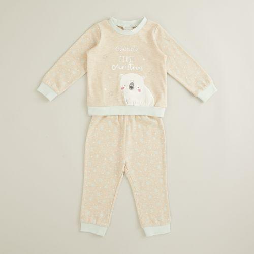 Personalized 'My 1st Christmas' Pajama Set