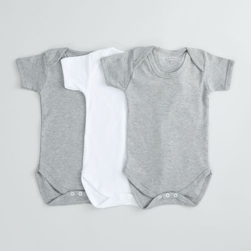 Pack of 3 Monochrome Bodysuits