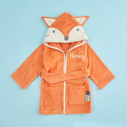 Personalized Fox Towelling Robe