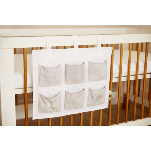 Personalised 6 Pocket Cot Storage