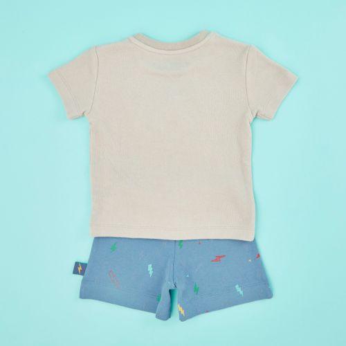 Personalised Children's Little Monster Short Pyjamas Set