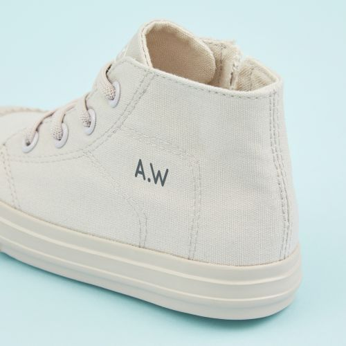 Personalised Kids High Top Trainers