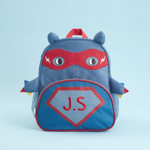 Personalised Superhero Design Infant Backpack
