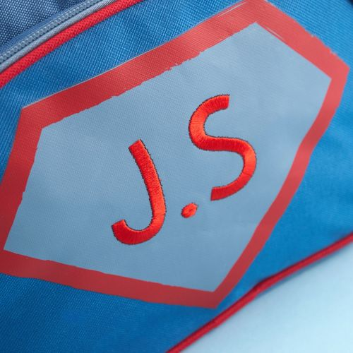 Personalised Superhero Design Medium Backpack