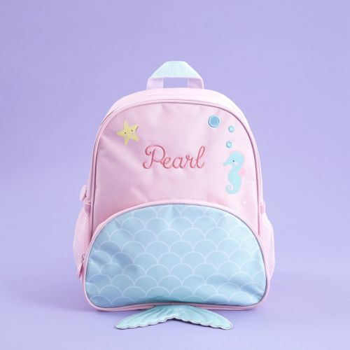 Personalised Mermaid Design Medium Backpack