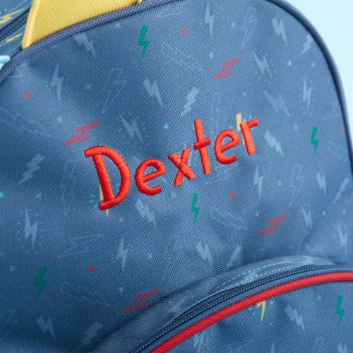 Personalised Medium Monster & Me Printed Backpack