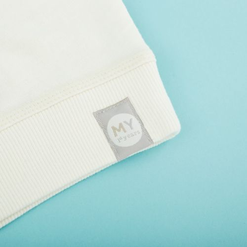 Personalized Ivory Slogan Sweatshirt