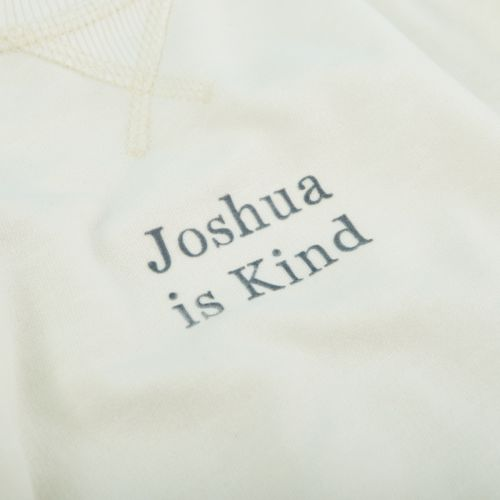 Personalised Ivory Slogan Sweatshirt