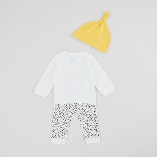 Personalised Stars and Spots Baby Outfit Set