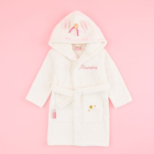 Personalized Unicorn Towelling Robe