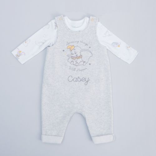 Personalised Disney Dumbo Baby Outfit Set
