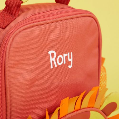 Personalised Colourful Lion Lunch Bag