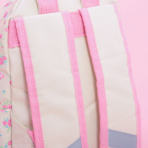 Personalised Floral Print Mini Backpack