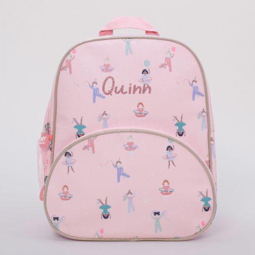 Personalised Little Performers Medium Backpack