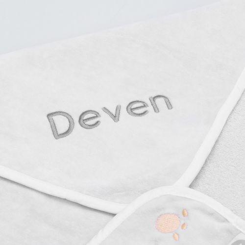 Personalised Polar Bear Hooded Towel