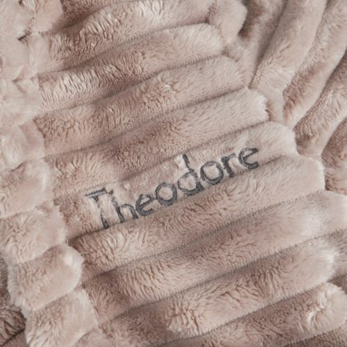 Personalised Rhino Fleece Dressing Gown