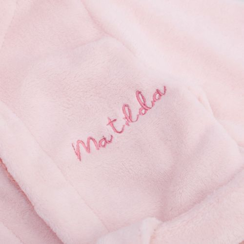 Personalised Fairy Princess Fleece Dressing Gown
