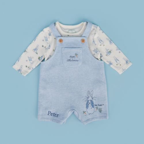 Personalised Peter Rabbit Baby Outfit Set