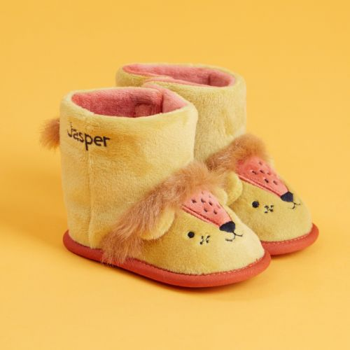 Personalised Little Lion Booties