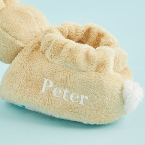 Personalised Peter Rabbit Baby's First Booties