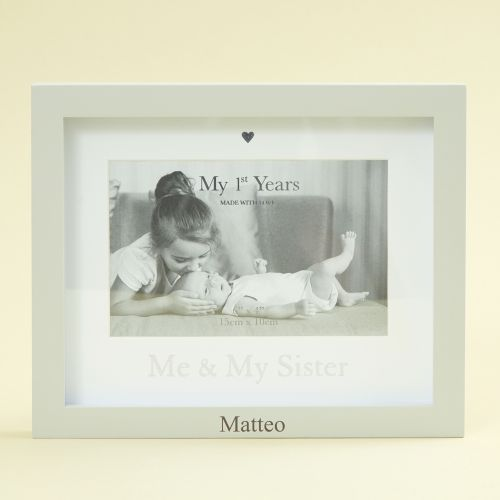 Personalised 'Me & My Sister' Photo Frame