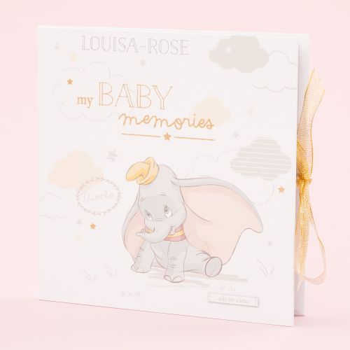 Personalized Disney Dumbo Record Book