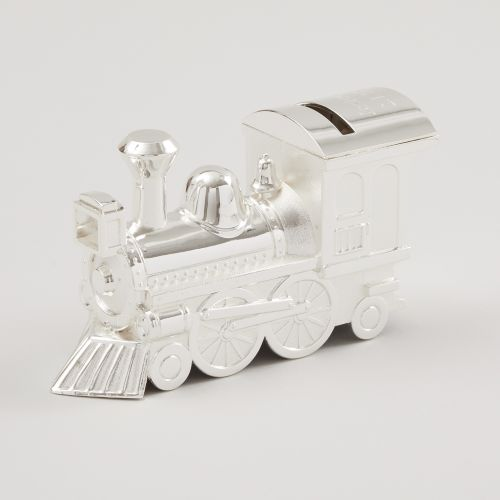 Personalised Large Train Money Box