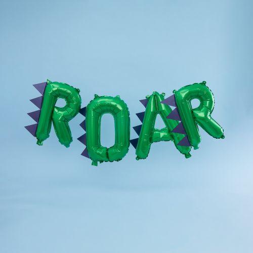 Ginger Ray Dinosaur Party ROAR Balloon Bunting