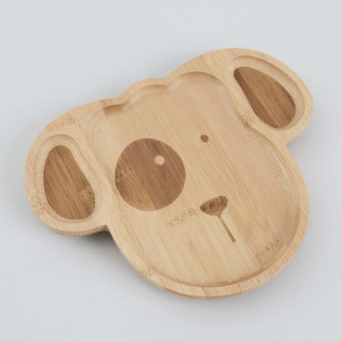 Puppy Bamboo Suction Plate