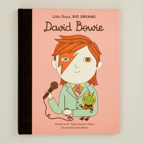 Personalised Little People, Big Dreams David Bowie Book
