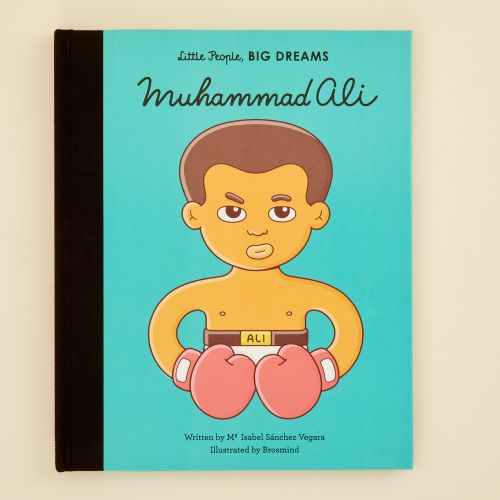 Personalised Little People, Big Dreams Muhammad Ali Book